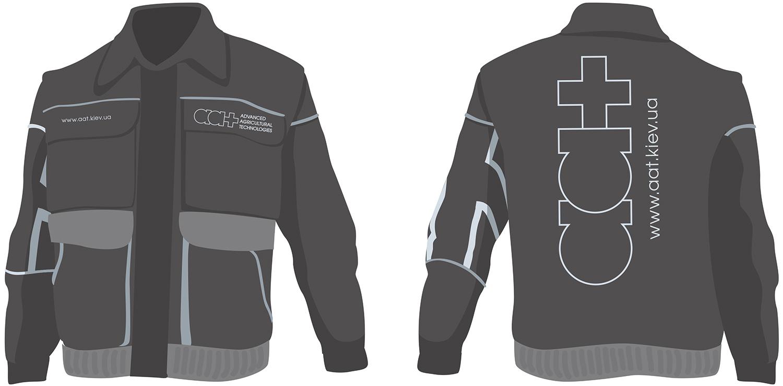 AAT workwear. Branding workwear. Jacket.