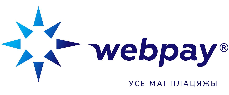 Логотип Webpay (Веб Пей). Усі мої платежі.