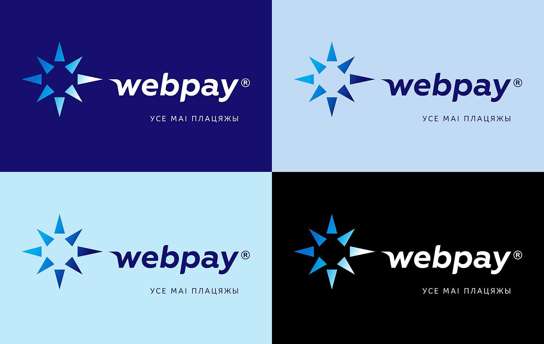 Логотип системи онлайн-платежів Webpay (Веб Пей).
