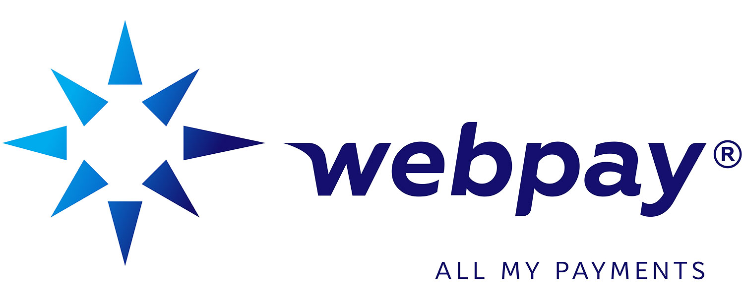 Webpay logo design. All my payments.