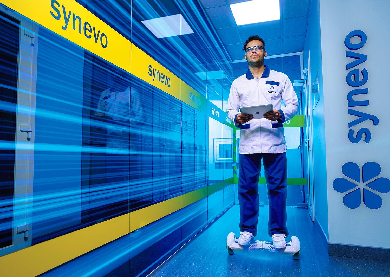 Медицинская лаборатория «Синэво». Движение вперед, навстречу будущему.