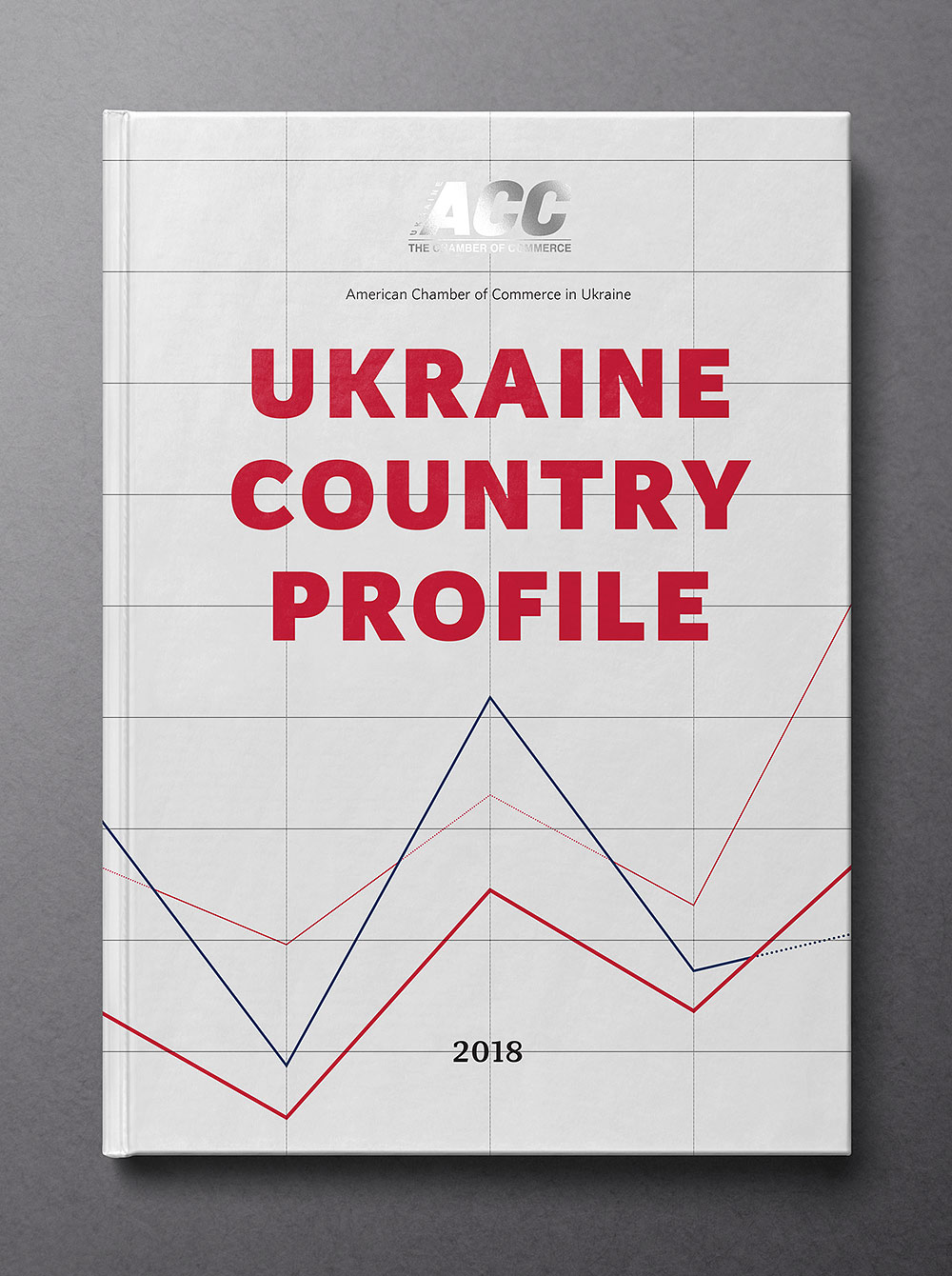 Ukraine Country Profile 2018 book cover. American Chamber of Commerce (ACC).