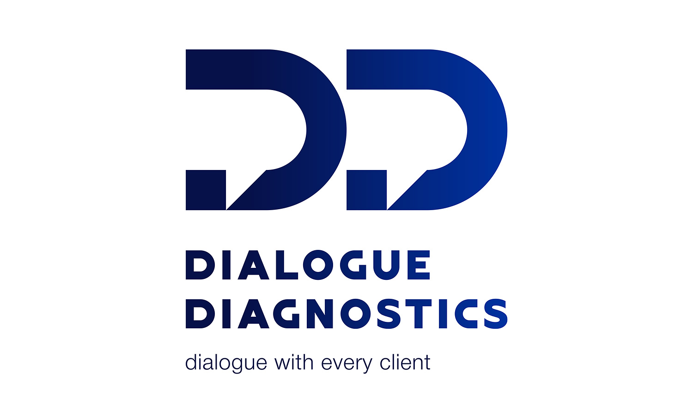 Логотип Dialogue Diagnostics (ООО «Диалог Диагностикс»).