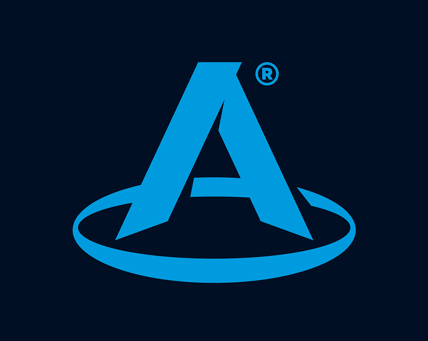 "The logo of the Polish company ""A"". A one-letter logo."