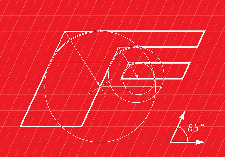 Coffee shop logo design. Formula Coffee.