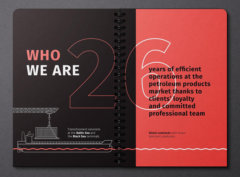 Himbalt company presentation design. The new corporate identity.