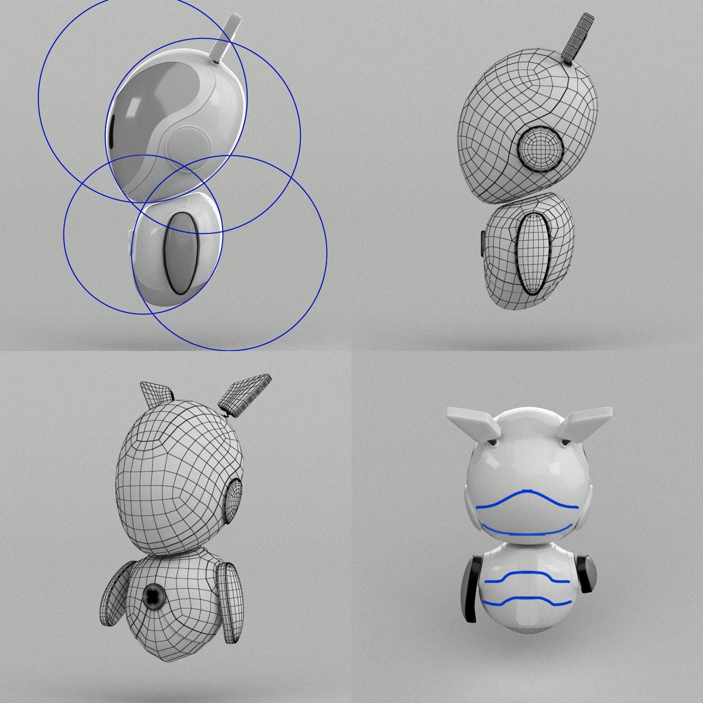 Моделювання робота. Створення робота для банку Альтбанк (Altbank), 3D графіка.